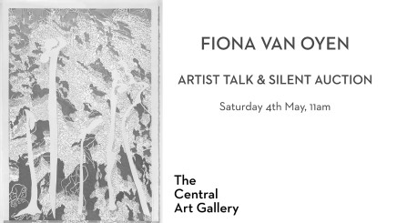 Artist Talk and Silent Auction: Fiona Van Oyen