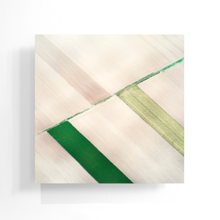 Elizabeth Thomson, Out on the Plain - geometric abstraction, 2020