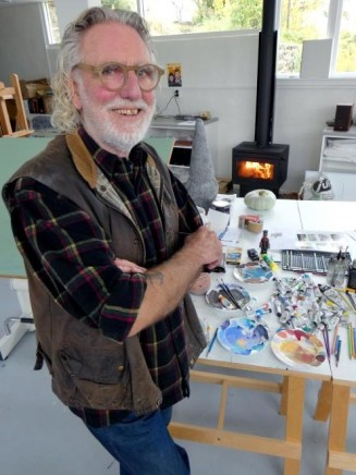 Dick Frizzell | Otago Daily Times: Henderson House Residency 2019