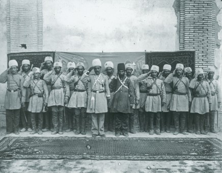 Not known, Salute of soldiers at the Palace, Isfahan, Late 19th Century