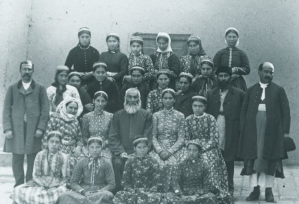 Rev. C.H. Stileman, Teachers, Armenian girls' school, Julfa, Late 19th Century