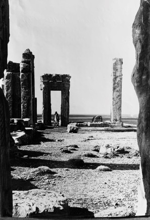 Ernst Herzfeld, Doorway to the Hall of State of the palace of Darius I, Persepolis, 1923-28