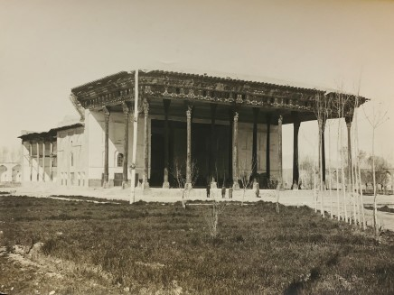 Antoin Sevruguin, Qasr-i Chihil Sutun, Isfahan, Late 19th Century or early 20th Century