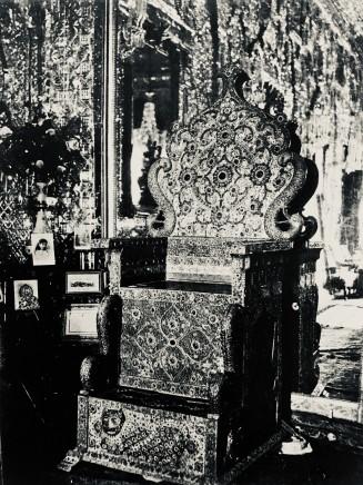 Antoin Sevruguin, The Nadiri Throne, Late 19th Century