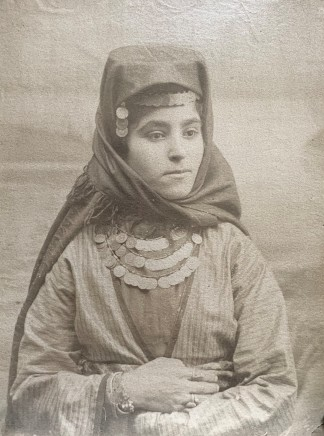 Antoin Sevruguin, An Armenian woman, Late 19th Century, early 20the Century