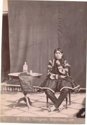 Dmitri Ivanovich Ermakov, A Persian girl from Tehran, 1880s
