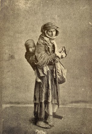 Antoin Sevruguin, A nomad with child, Late 19th Century, Early 20th Century