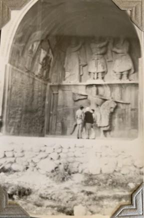 John Drinkwater, Taq-i-Bustan, Kermanshah, 1934