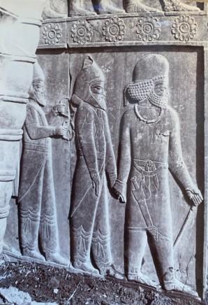 Ernst Herzfeld, achara Palace, Central Facade of Western Stairway, Persepolis, 1923-28