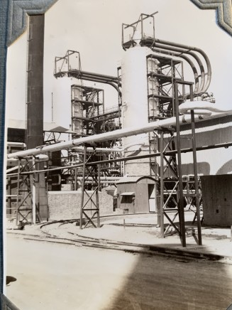 John Drinkwater, An Anglo-Persian Oil Co. cracking plant at the Abadan refinery, 1934