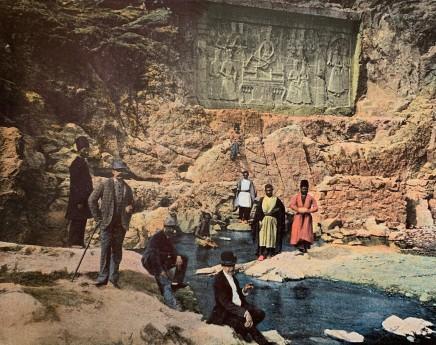 Antoin Sevruguin, Tchechan Ali, Le Shah Fath Ali et ses enfants, 1897