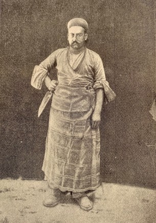 Antoin Sevruguin, A butcher, Late 19th Century, Early 20th Century