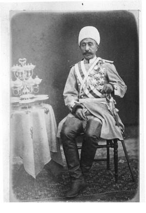 Joseph Papazian, Karim Khan Amir Panj, Late 19th Century