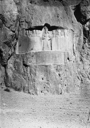 Ernst Herzfeld, Sassanid Reliefs Depicting Bahram II among his Family and Courtiers, Naqsh-i Rustam, 1923-28