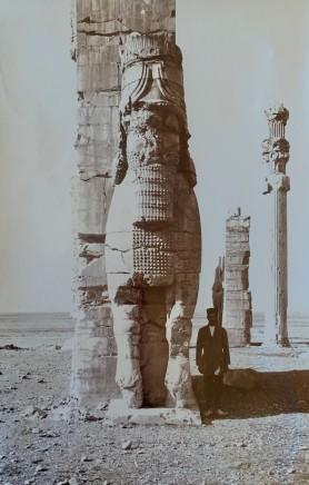 Ernst Herzfeld, Gate of All Lands, Colossal Sculpture Depicting Man-Bull, Persepolis, 1923-28