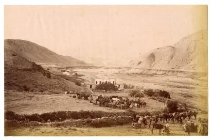 Antoin Sevruguin, Peichanar, between Kazvin and Rasht, Late 19th Century