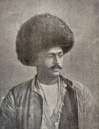 Antoin Sevruguin, A Persian man from the North, Late 19th Century, Early 20th Century