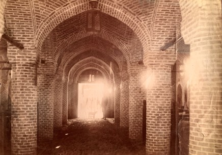 Not known, Interior of a building relating to the Iran's first railway line which connected Tehran to the shrine of Abdul Aziz located in Rey, Late 19th Century