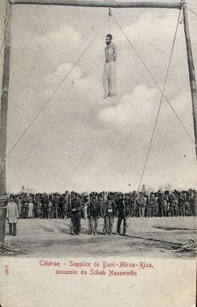 Not known, The execution of Mirza Reza Kermani, Tehran, 1896