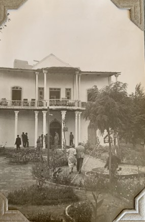 John Drinkwater, The Governor's residence, Hamadān, 1934