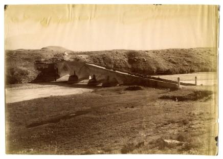 Antoin Sevruguin, A bridge across the Shah-Rud river, Late 19th Century