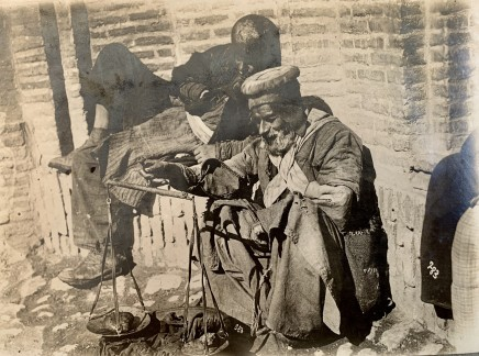 Antoin Sevruguin, A man selling sugar beats, Late 19th Century or early 20th Century