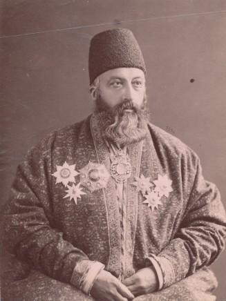 Dmitri Ivanovich Ermakov, Ali Reza Khan Azod al-Molk, Master of Ceremony of Naser al-Din Shah Qajar, Late 19th Century