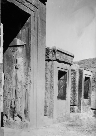 Ernst Herzfeld, Portico of Tachara, Persepolis, 1923-28