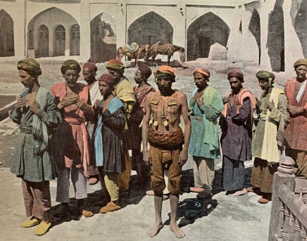 Antoin Sevruguin, Teheran, Procession de Derviches Martyrs, 1897