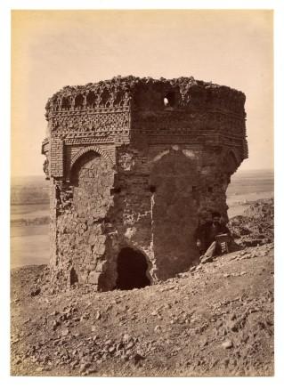 Antoin Sevruguin, Shahr-i Ray: North side of Naqar Khana, Late 19th Century
