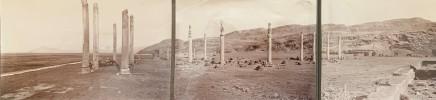 Ernst Herzfeld, Apadana, Columns of East Portico, Persepolis, 1923-28