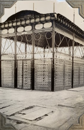 John Drinkwater, The Tomb of Hafez, with an iron transenna, Shiraz, 1934