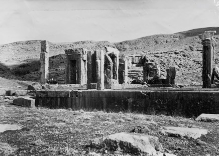 Ernst Herzfeld, Palace of Xerxes, Looking from the West, Persepolis, 1923-28