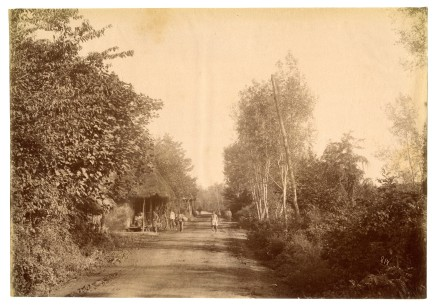 Antoin Sevruguin, The route to Rasht, Late 19th Century