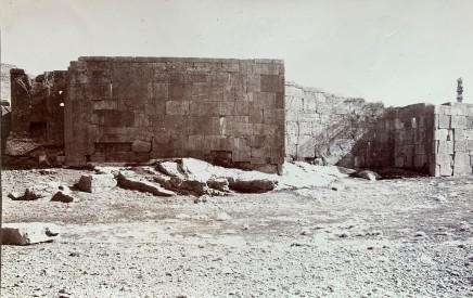 Ernst Herzfeld, Northwestern Corner of Terrace Complex, Persepolis, 1923-28