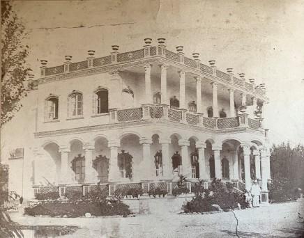 Abdallah Mirza Qajar, Fabius Boital's residence in Tehran, 1886