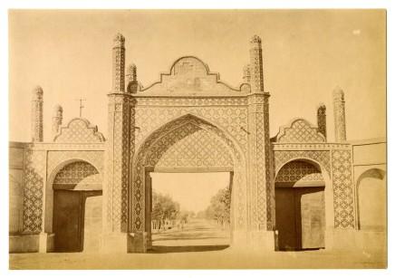 Antoin Sevruguin, Darwazeh, Tehran, Late 19th Century
