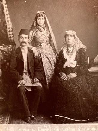 Dmitri Ivanovich Ermakov, Persian Armenians in national costume, Tehran, Late 19th Century