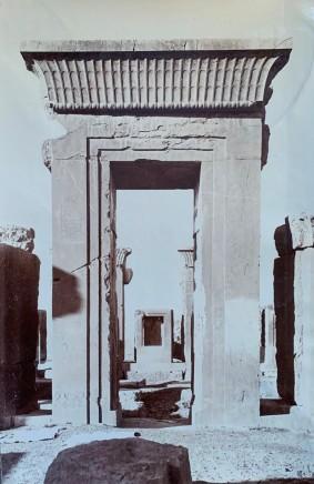 Ernst Herzfeld, Door of Tachara, Persepolis, 1923-28