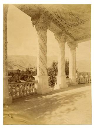 Antoin Sevruguin, The Ferdows Garden Mansion, Shemiran, Late 19th Century