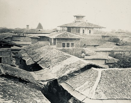 Not known, typical cityscape, Masanderan, Persia, Late 19th or early 20th Century