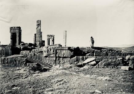 Ernst Herzfeld, Palace of Xerxes, View of Eastern Stairway, Persepolis, 1923-28