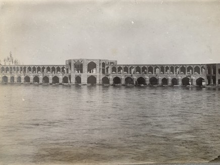 Antoin Sevruguin, Pul-i Khwaju, Isfahan, Late 19th Century or early 20th Century