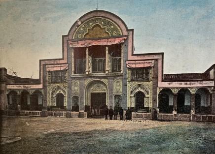 Antoin Sevruguin, Teheran, Porte du Palais du Shah, Avenue des Diamants, 1897