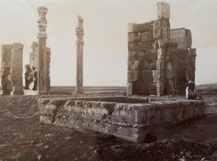 Ernst Herzfeld, Gate of All Lands and Basin in the Forefront, Persepolis, 1923-28