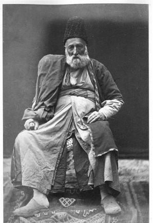 Antoin Sevruguin, A Zaroastrian merchant, Late 19th Century