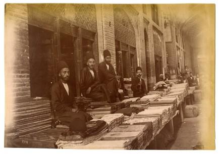 Antoin Sevruguin, Bazaar, Late 19th Century
