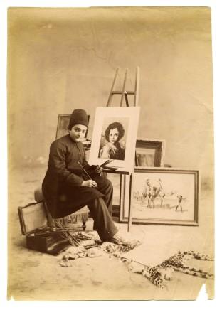 Antoin Sevruguin, Mohammad Nasser Khan-e Zahir os-Soltan, Late 19th Century