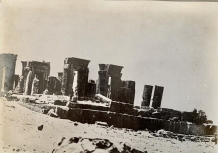 Antoin Sevruguin, Tachara Palace, Persepolis, Late 19th Century or early 20th Century