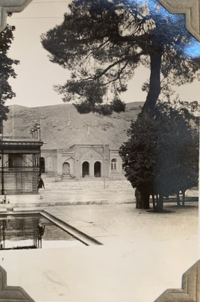 John Drinkwater, The Tomb of Hafez, Shiraz, 1934